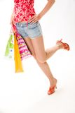Woman�s legs Stock Photo