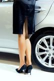 Womans legs Royalty Free Stock Image