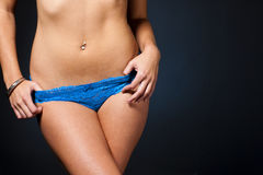 Womans Panties Royalty Free Stock Photo
