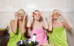 Womans party Stock Photos