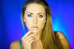 Womans portrait V Stock Photo
