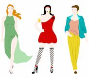 The womans set Royalty Free Stock Photography