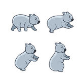 Wombat Sitting Sprite Stock Photos