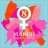 Women's dagkort Arkivbilder