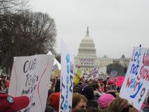 Women's Maart stock fotografie
