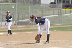Women�s NCAA Softball Stock Photos