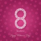 Women& x27 ημέρα του s διανυσματική απεικόνιση