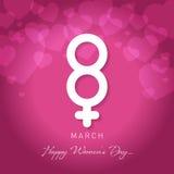 Women& x27 ημέρα του s ελεύθερη απεικόνιση δικαιώματος