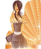 Women. Face fairy fashion female gifts girl illustration lady   women Stock Photo