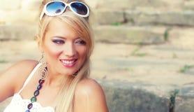 Women. Wonderful blond women-outside shot Royalty Free Stock Photo
