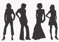 Women. A illustration of women royalty free illustration