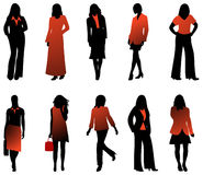 Women royalty free illustration