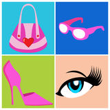 Women Accessories Stock Image