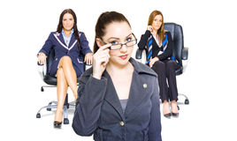 Women achievers in corporate business Stock Photography