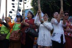 Women activists Stock Photography