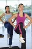 Women In Aerobics Class Stock Photos