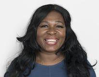 Women African Smiling Shoot Concept stock photos