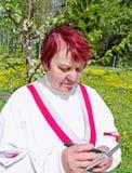 Women agronomist. Stock Image