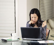 Women Analyzing Data Royalty Free Stock Image
