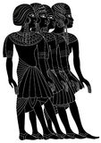 Women of Ancient Egypt Stock Image