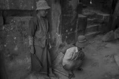 Women of Angkor stock photos