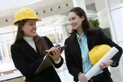 Women Architects Royalty Free Stock Photo