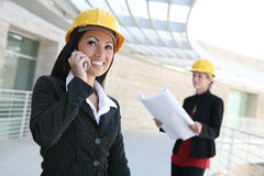Women Architects Stock Photography