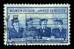 Women in the Armed Forces Stock Images
