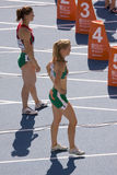 Women athletes Stock Photos