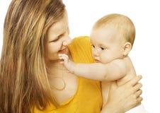 Women & baby Royalty Free Stock Photos