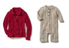 Women & baby sweater Stock Image