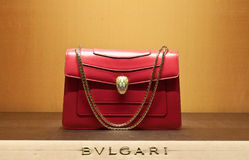 Women bag bulgari Stock Photos