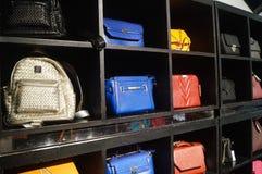Women bag shop Stock Photos