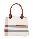 Women bag on white background. Royalty Free Stock Photo