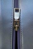 Women bag with zipper Royalty Free Stock Photos