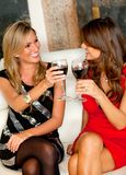 Women in a bar Stock Photography