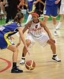 Women basketball Euroleague Stock Photos