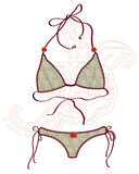 Women bathing suits. Royalty Free Stock Photography