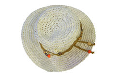Women beach hat Royalty Free Stock Photography