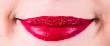 Women beauty lips Stock Images