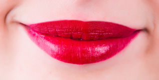 Women beauty lips Royalty Free Stock Photo