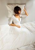 Women bedtime 5 Stock Photos