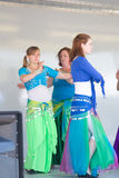 Women Belly Dancing Stock Photography