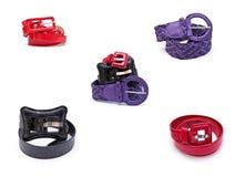 Women belts royalty free stock photo