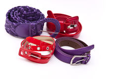 Women belts Stock Photos