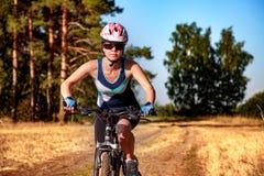 Women on bike Stock Photography