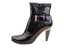 Women black boot Royalty Free Stock Photo