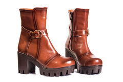 Women boots Brown Stock Image