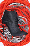 Women boots handmade Royalty Free Stock Photo