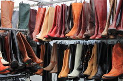 Women boots Royalty Free Stock Photography